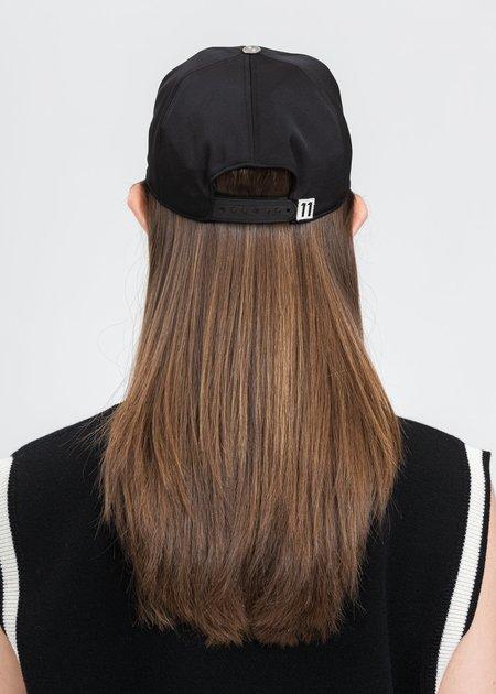 we11done Basic Logo Saint Cap - Black
