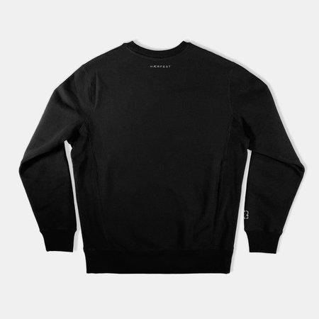 Haerfest Bags Mindful Crewneck Sweatshirt - black