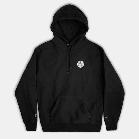 Haerfest Bags Mindful Hooded Sweatshirt - black