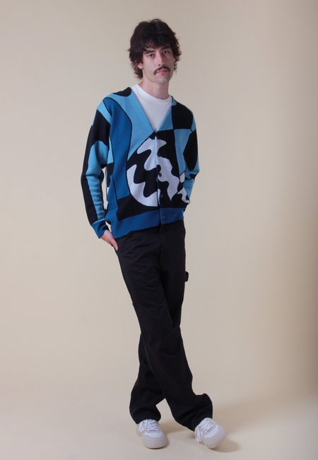 BY PARRA Too Loud Knitted Cardigan - Multi