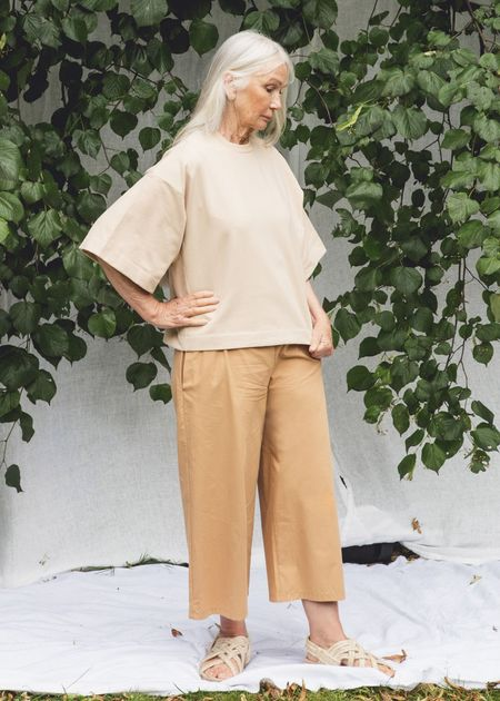 beaumont organic Adrienne Trousers - Camel