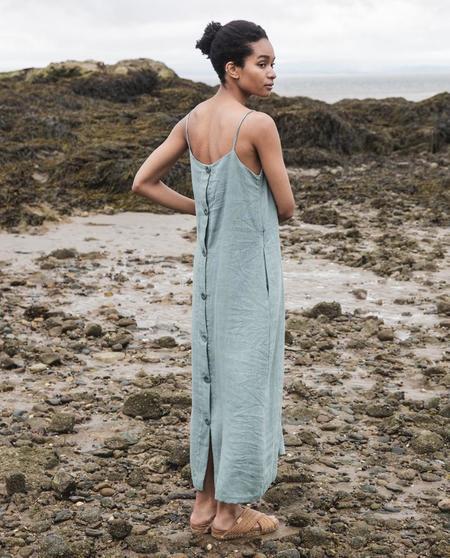 beaumont organic Athena Dress - green