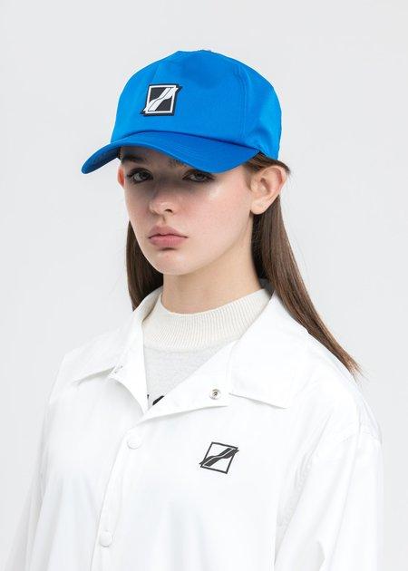 we11done Basic Logo Saint Cap - Blue