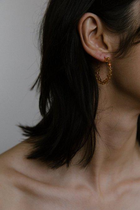 Vermeer Avery Earrings - Amber