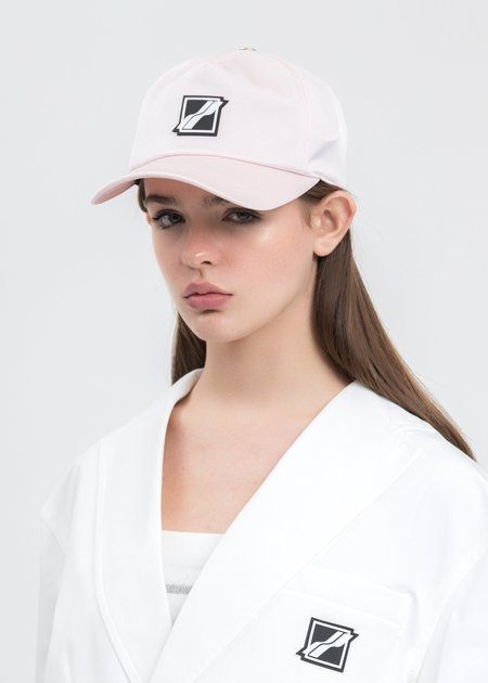 we11done Basic Logo Saint Cap - Pink