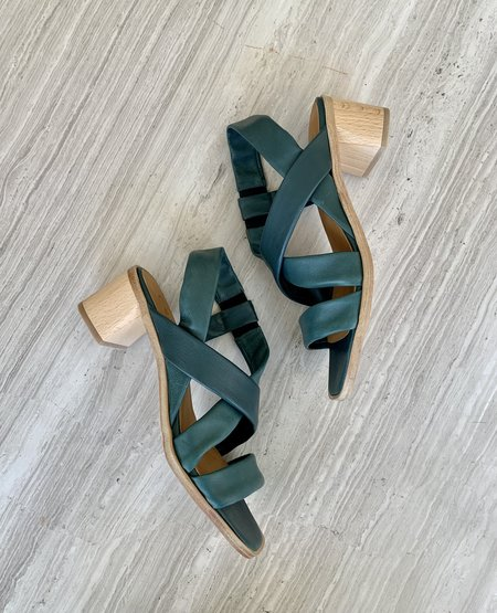 Coclico Jade Heel - Riviera Green