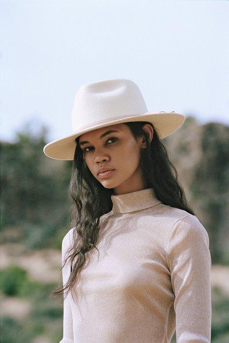 Unisex Lack of Color Ivory Zulu hat - Ivory