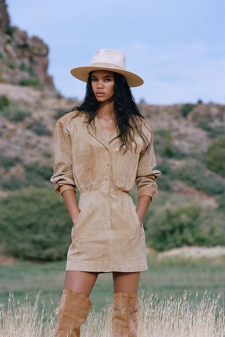 Unisex Lack of Color The Mirage Hat - Ivory