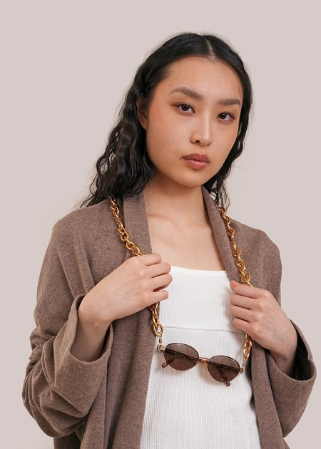 The Series #3 Glasses Chain - Gold