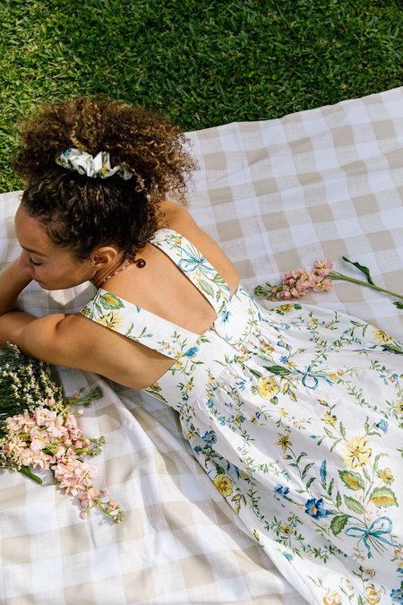 Plante Rosie Dress - Trellis Floral