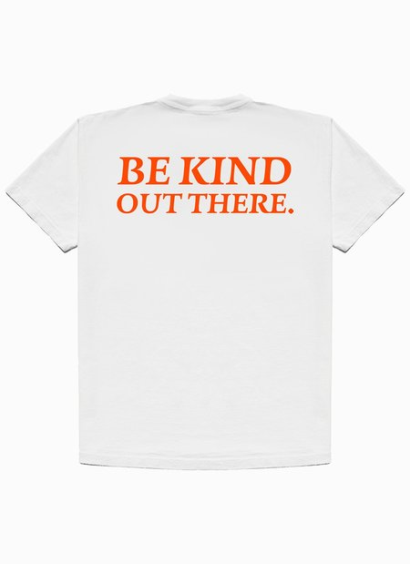 Noble Gentlemen Trading Co. Be Kind Out There SS Tee - White