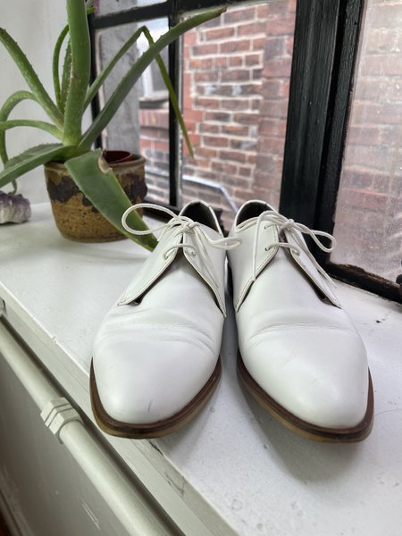 [pre-loved] Everlane Oxfords - White