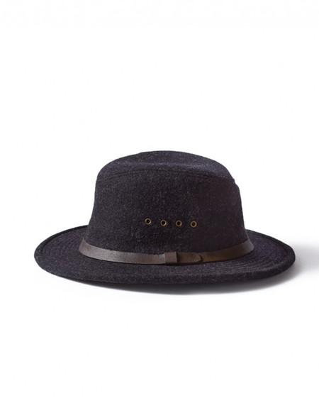 Filson Wool Packer Hat Charcoal
