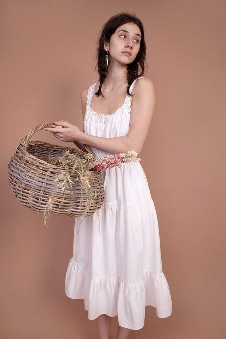 Meadows Phlox Dress - White