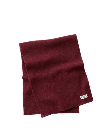 Nudie Liamsson Scarf Burnt Red