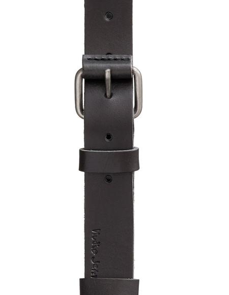 Nudie Wayne Leather Belt Black