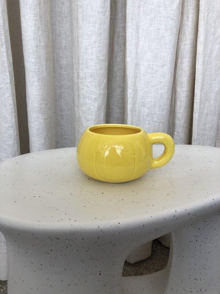 Vintage SMILEY MUG - Yellow