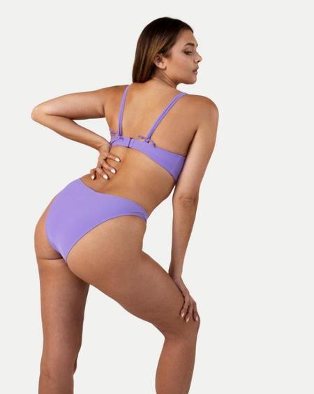RAQ India Multi-Way Underwire Bikini Top - Lilac