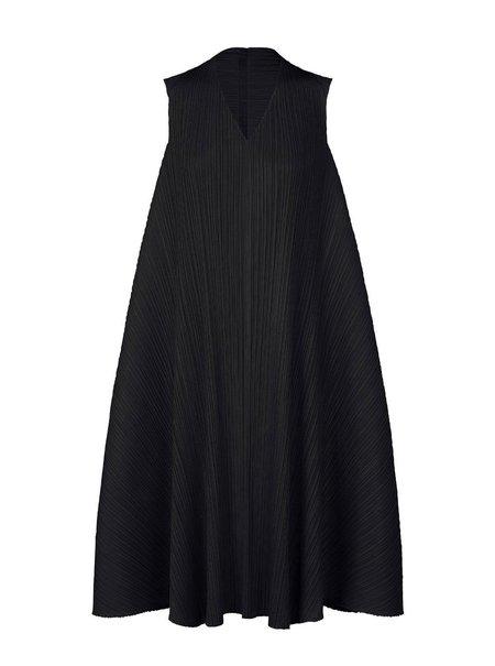 Pleats Please by Issey Miyake Antelope Dress - Black