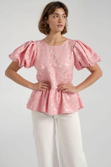 Stine Goya Miren Top - Distortion Pink