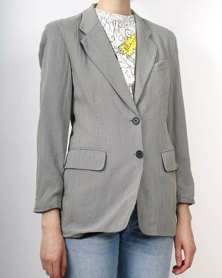 Vintage DKNY blazer - glen check