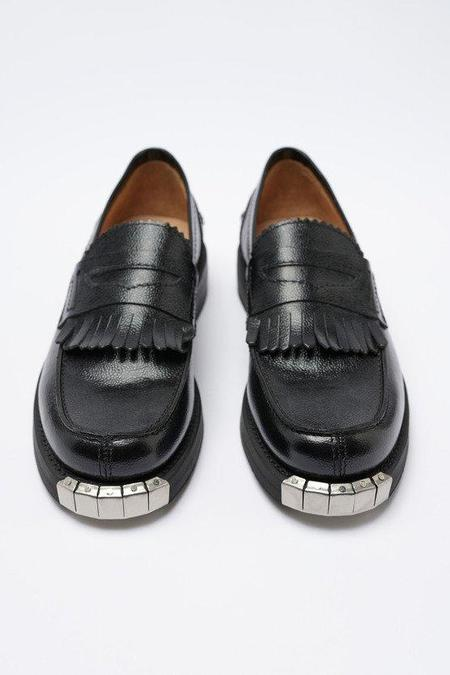 Our Legacy ARMY GRAIN LEATHER Loafer - Black