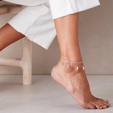 Jenny Bird Foli Anklet - Silver