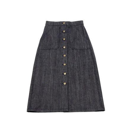 Apiece Apart Correa A-line Skirt