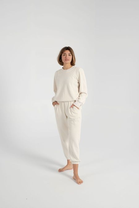 Apiece Apart Dinas Jogger pants - Cream