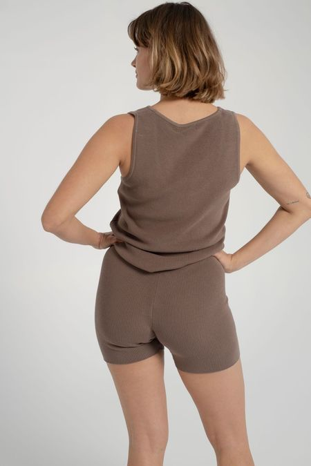 signe Knit Top - Taupe
