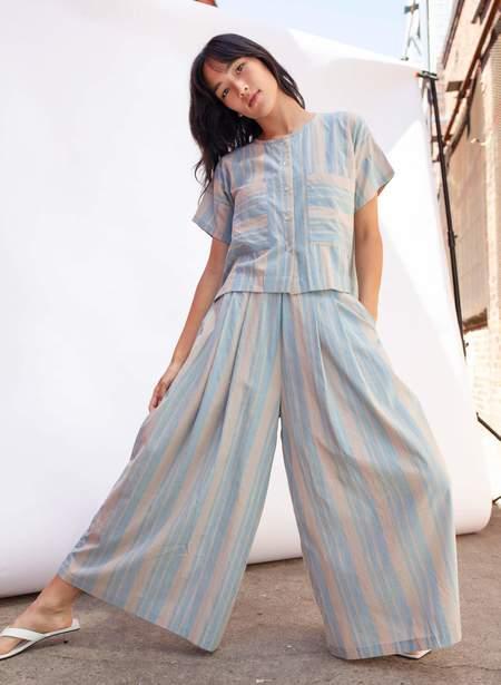 Seek Collective Savista Pants 2.0 - Cirrus Stripe