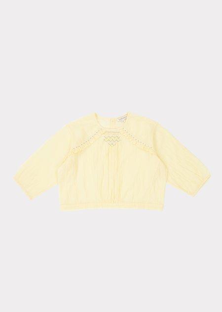 kids Caramel Krill Blouse - Yellow