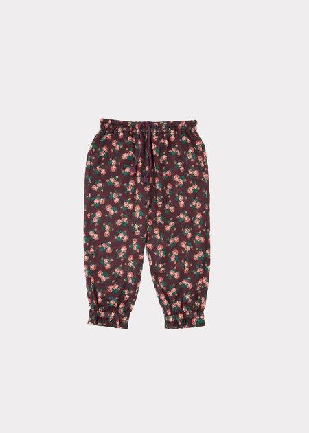 Kids Caramel Shrimp Trousers - Bright Floral