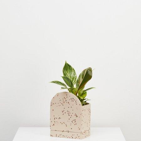 Capra Designs Sol Planter - Fossil Terrazzo