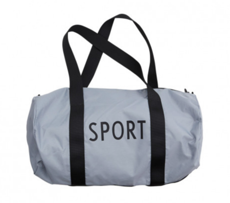 UNISEX Design Letters Small Sports Bag