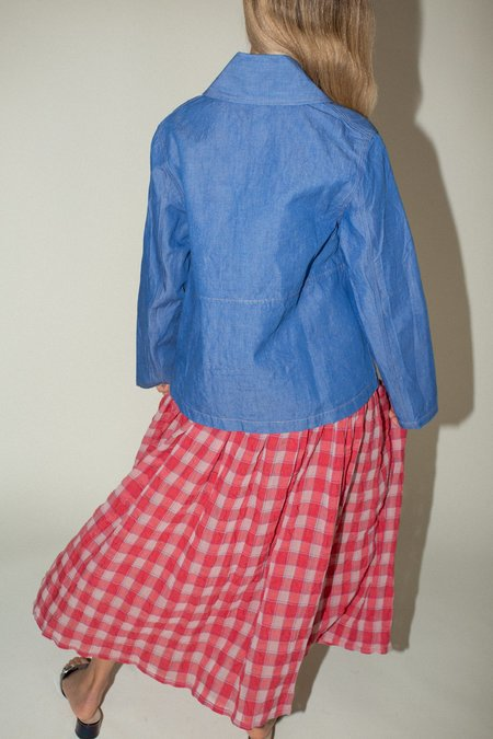Caron Callahan Clyfford Jacket - Blue Denim