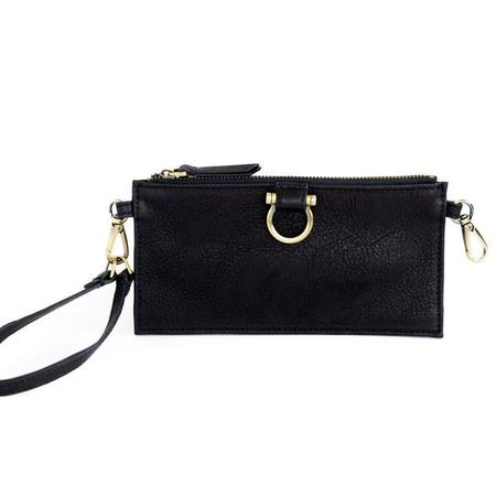 Sapahn Evelyn Wristlet Wallet - Black