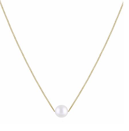 Trois Petits Points Necklace - 18kt Gold