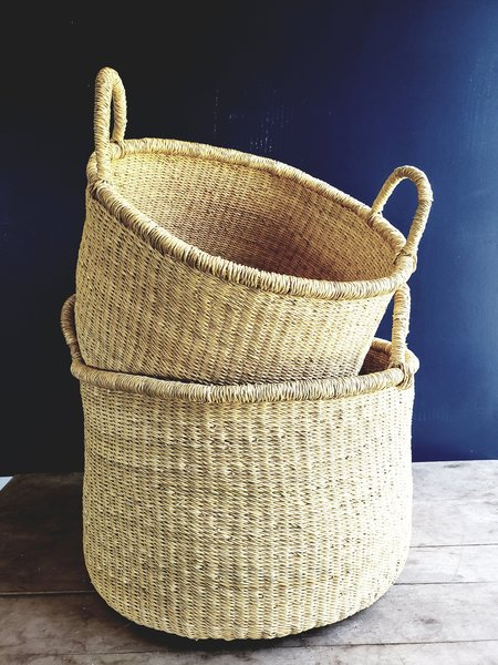 medina Accra Storage Basket - natural