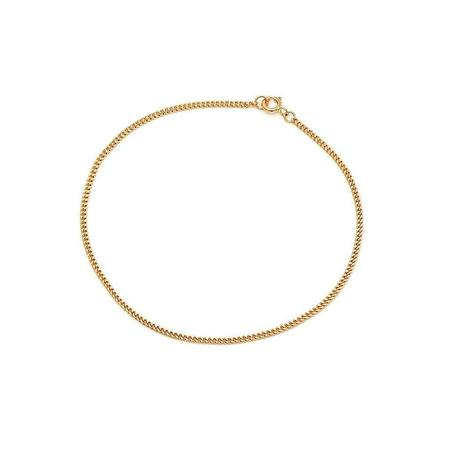 Leah Alexandra Curb Chain Bracelet - 10kt Gold