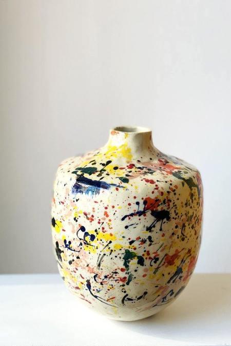 A.Cheng Large Splatter Vase