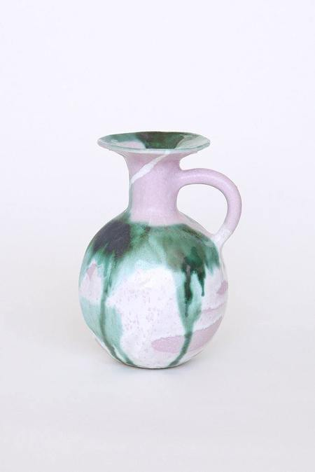 A.Cheng Ceramic Pitcher - Pink Forest