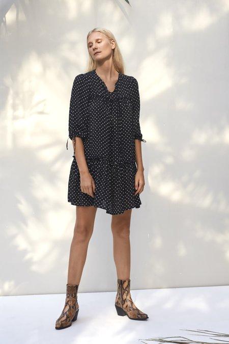 Rue Stiic Brielle Mini Dress - black