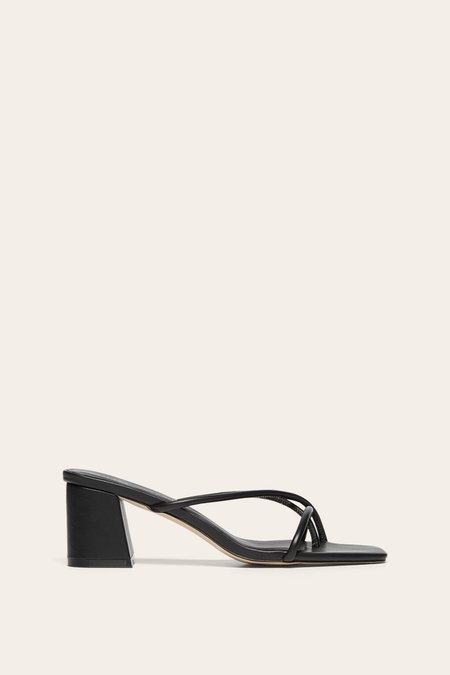Nelson Made Roma Mule - Black