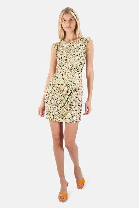 3.1 Phillip Lim Flutter Sleeve Mini Dress - Multi