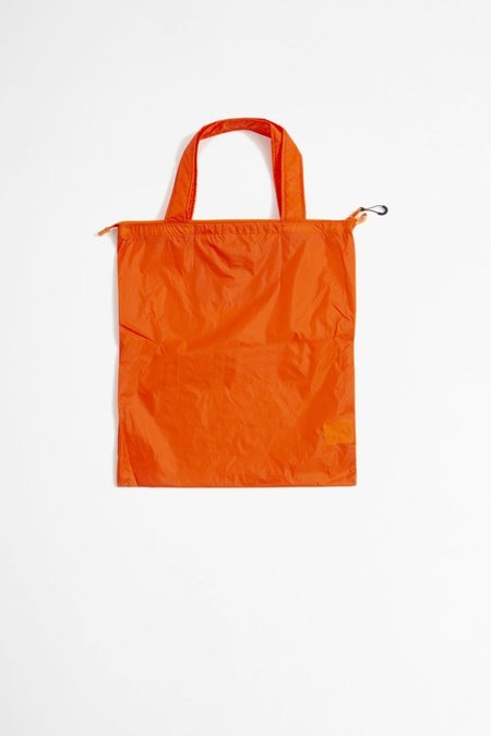 Norse Projects Packable Tote - Oxide Orange