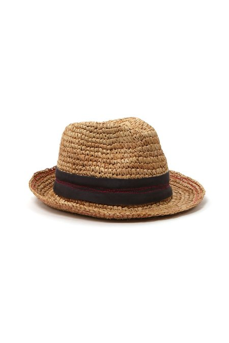 Lola Tarboush Hat - Charcoal