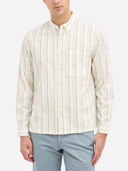 O.N.S Vance Stripe Shirt - Super Yellow