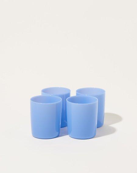 Maison Balzac Set of 4 Goblets - Opaque Bleuet