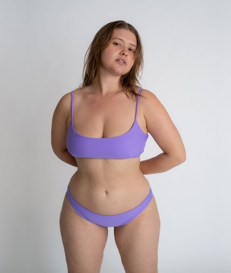 The Saltwater Collective Julia Top - Lavender